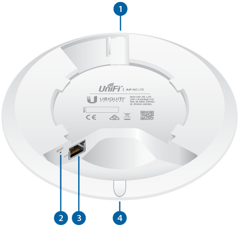 Ubiquiti Unifi UAP-PRO//UAP-LR//UAP Access Point Metal Mounting Bracket